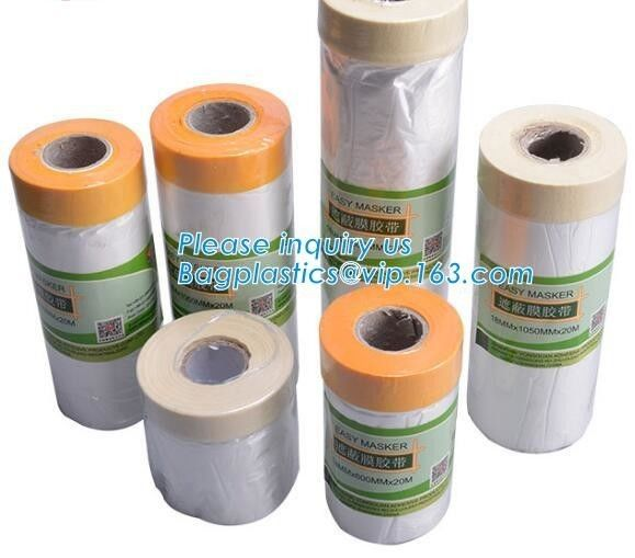 PE Disposable Table Plastic Car Seat Covers Drop Film Roll High Temperature Resistance