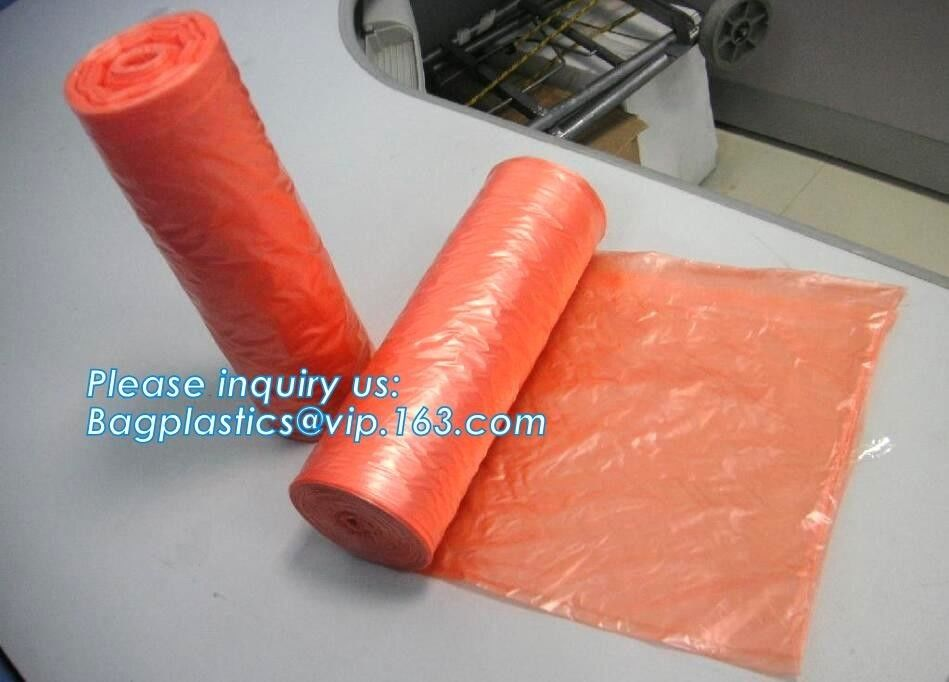 Durable Recyclable Biodegradable Laundry Bags On Roll , Custom Made Laundry Bags